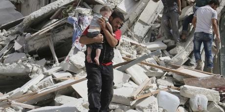 Protect Aleppo's children, now!