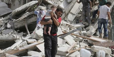 Italia: proteggete i bambini di Aleppo, ora!