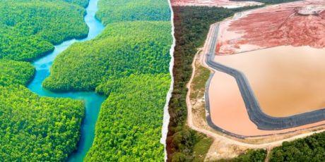 Een wond in het hart van het Amazonewoud