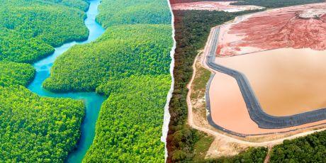 Uma ferida aberta no coração da Amazônia