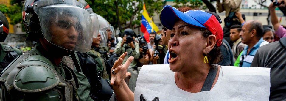 Stop the crimes against Venezuela
