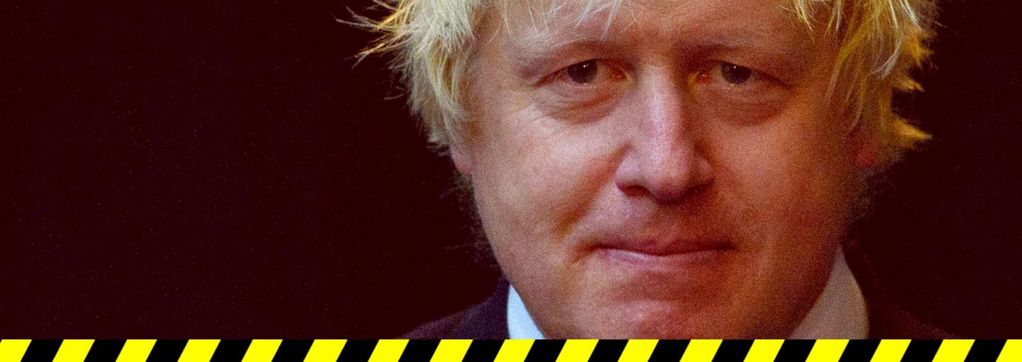 Boris Johnson: Resign now!