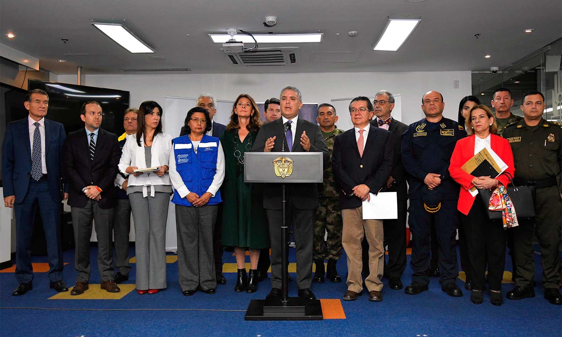Cuarentena para Colombia