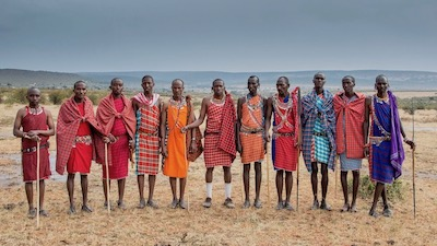 Answer the Maasai cry for help