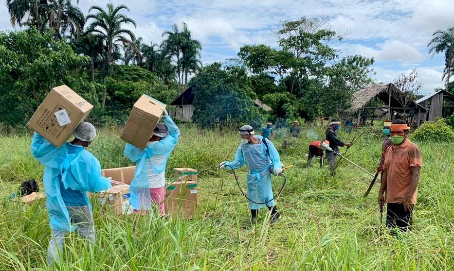 Avaaz : Nous ne pouvons pas sauver l'Amazonie sans ceux que la forêt abrite AmazonAid5