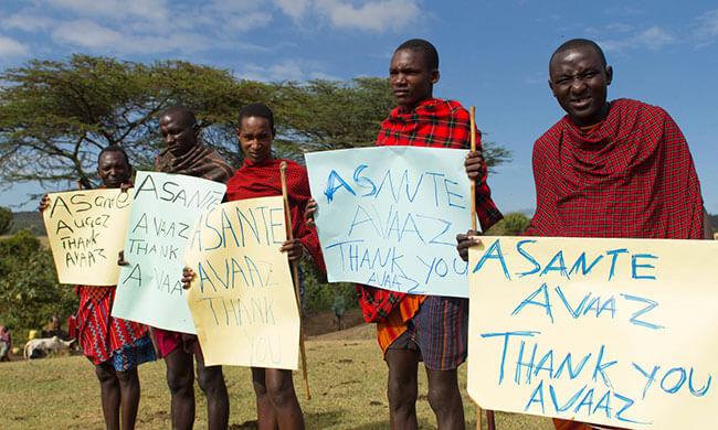Das Land der Massai retten