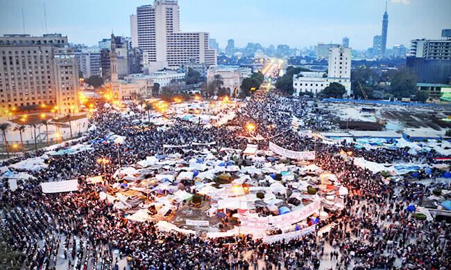 Solidarität mit Ägypten