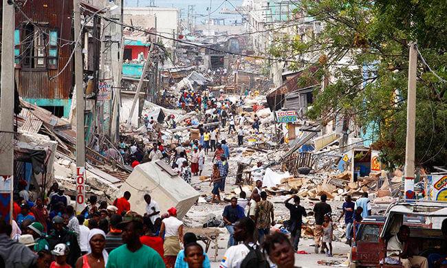Wiederaufbau in Haiti