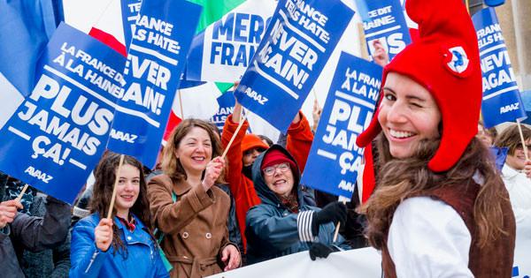 Aiutando a fermare l'estrema destra in Francia