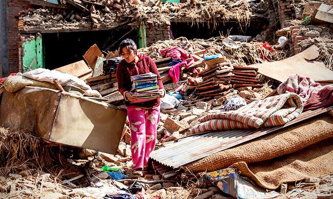 Nothilfe für Nepal