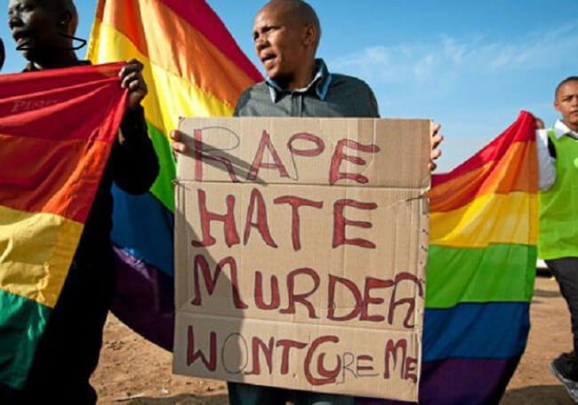 "Südafrika konfrontiert ""korrigierende Vergewaltigungen"""