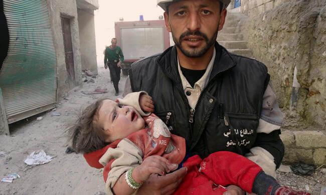 Hilfe für Syrer in Not