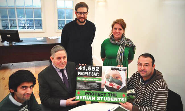Hope for Syrian students abroad