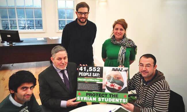 Hoffnung für syrische Studenten im Ausland