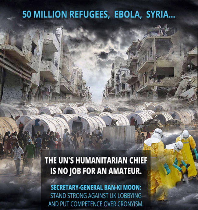 UN Humanitarian Chief: Competence over cronyism