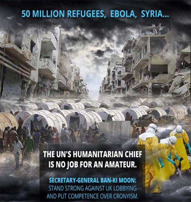 UN-Nothilfekoordinator: Kompetenz statt Vetternwirtschaft