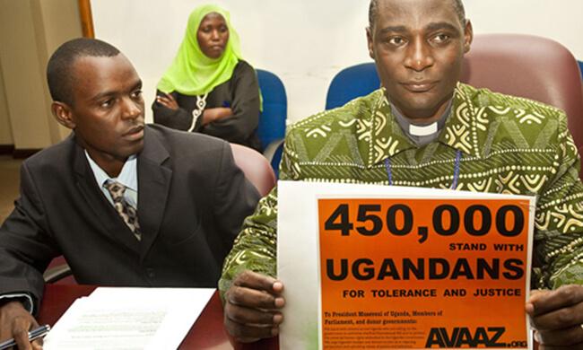 Gegen Hass in Uganda