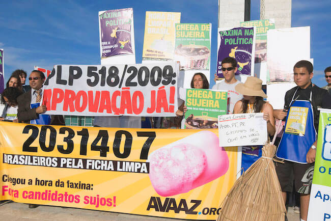 An Anti-Corruption Revolution in Brazil