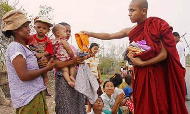 Blockade Breaking in Burma