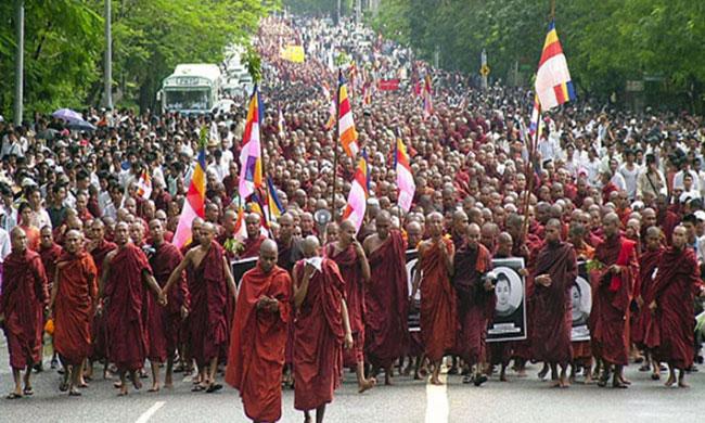 Seite an Seite mit Burma