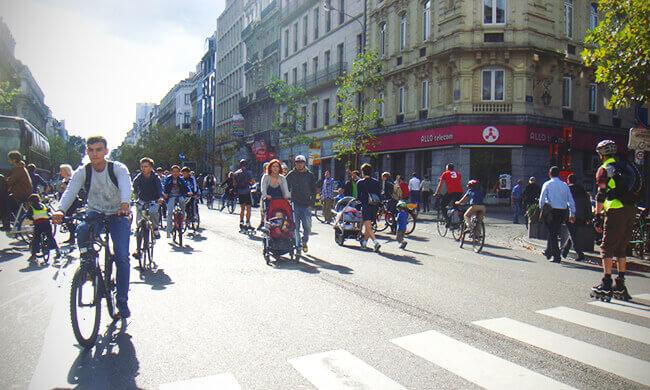 A Car-Free Day in Paris