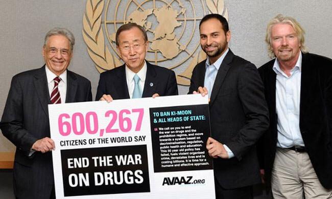 """Den """"Krieg gegen Drogen"""" beenden"""