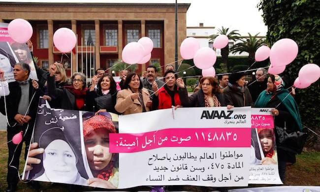 Marokko: Gegen Zwangsehe für Vergewaltigungsopfer