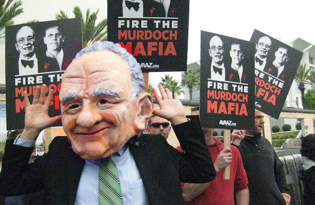 Defeating the Murdoch Mafia