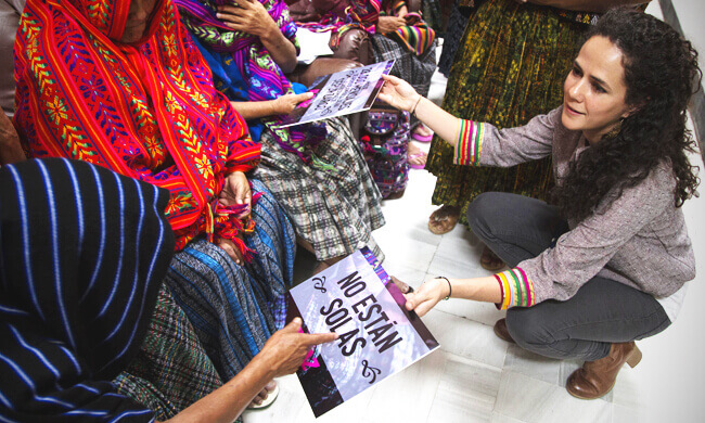 Justice and love for sexual slavery survivors