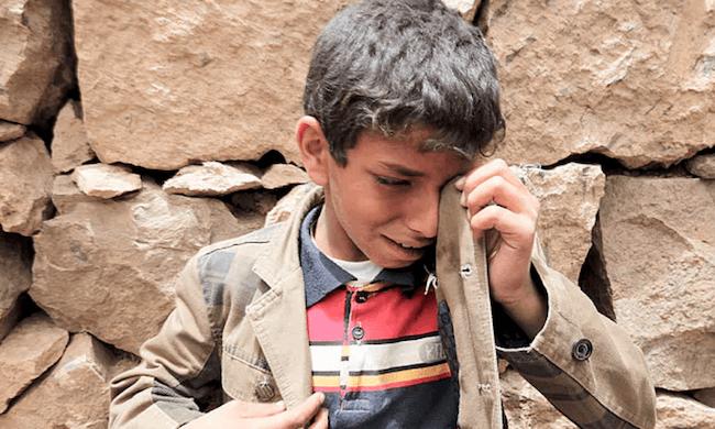 Banning bombs used on schools in Yemen