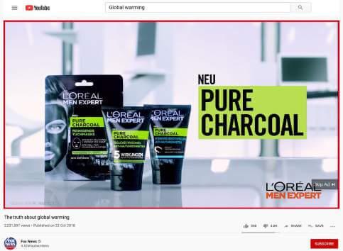 L'Oréal Ad