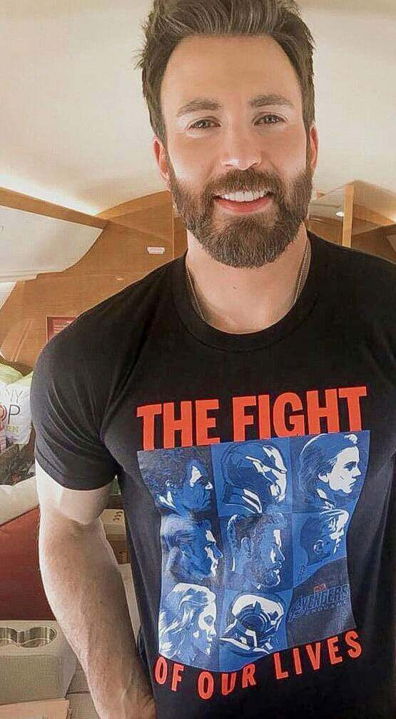 Actor Chris Evans who is featured in a Lionsgate ad for the movie Knives Out, which was found running on a climate misinformation video.