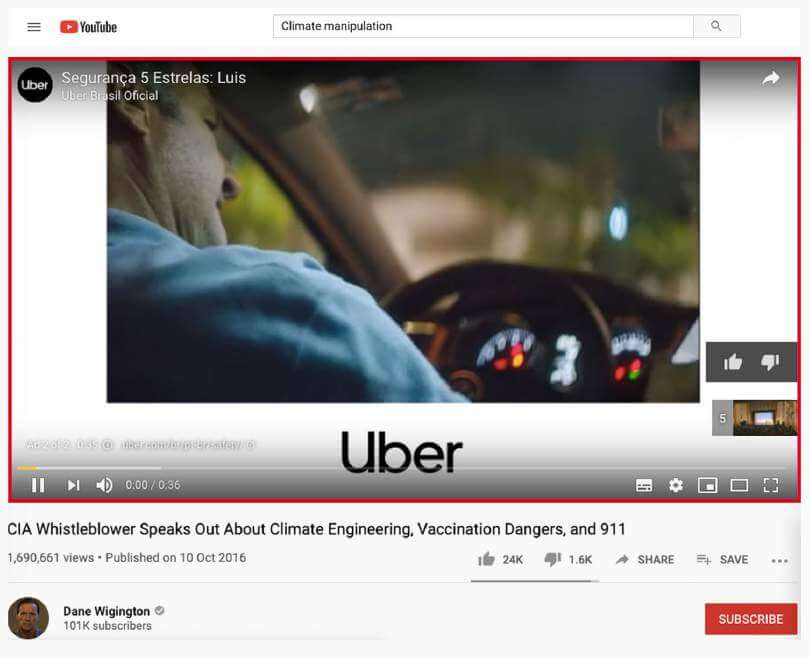 Uber's Ad